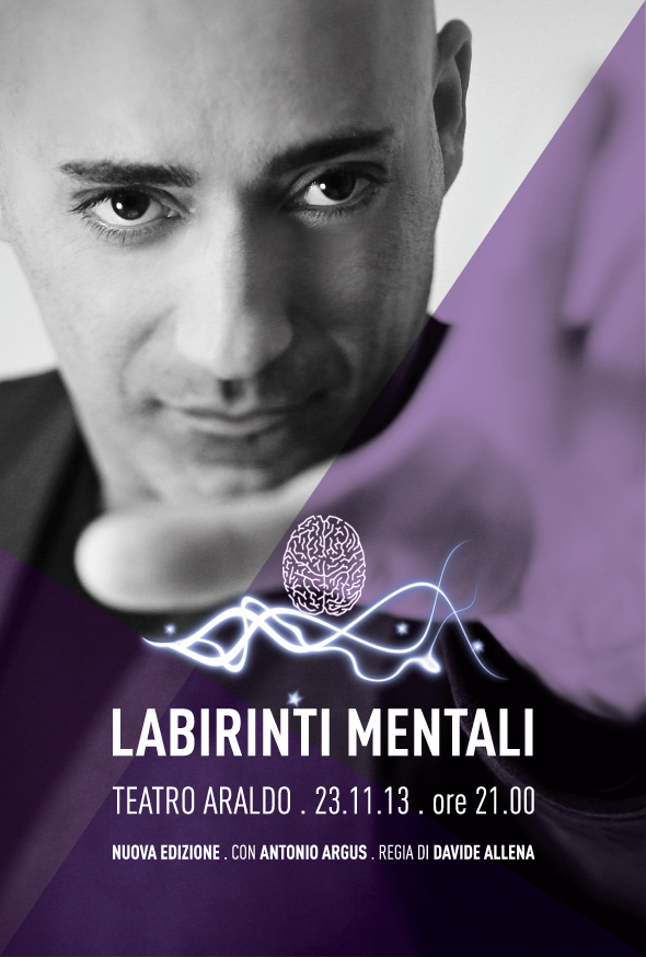 Labirinti Mentali - Flyer   Antonio Argus